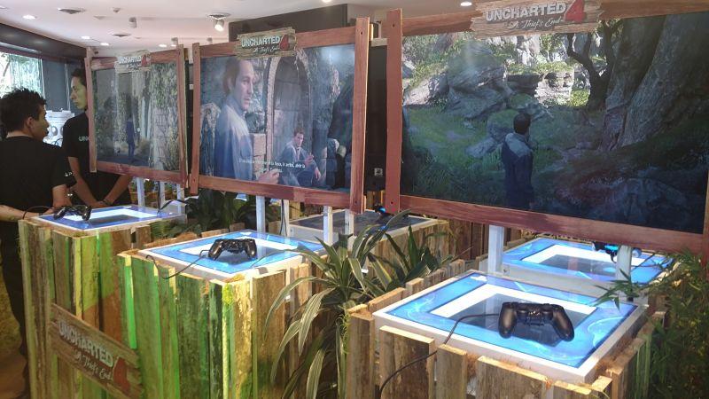 Así fue el lanzamiento de Uncharted 4 en Colombia