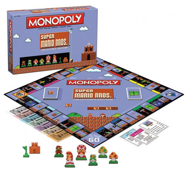 Así es el Monopoly de Super Mario Bros