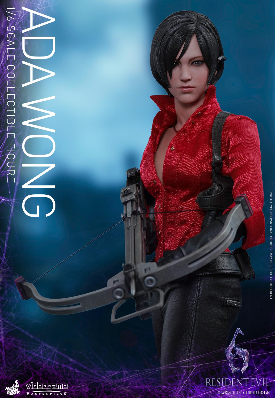 Mira las figuras de colección de Ada Wong y Leon Kennedy de Resident Evil 6