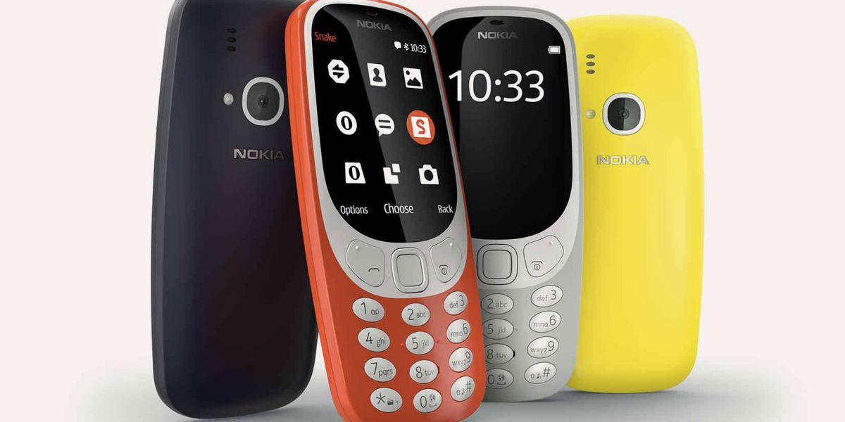 Nokia presentó oficialmente la reedición del 3310