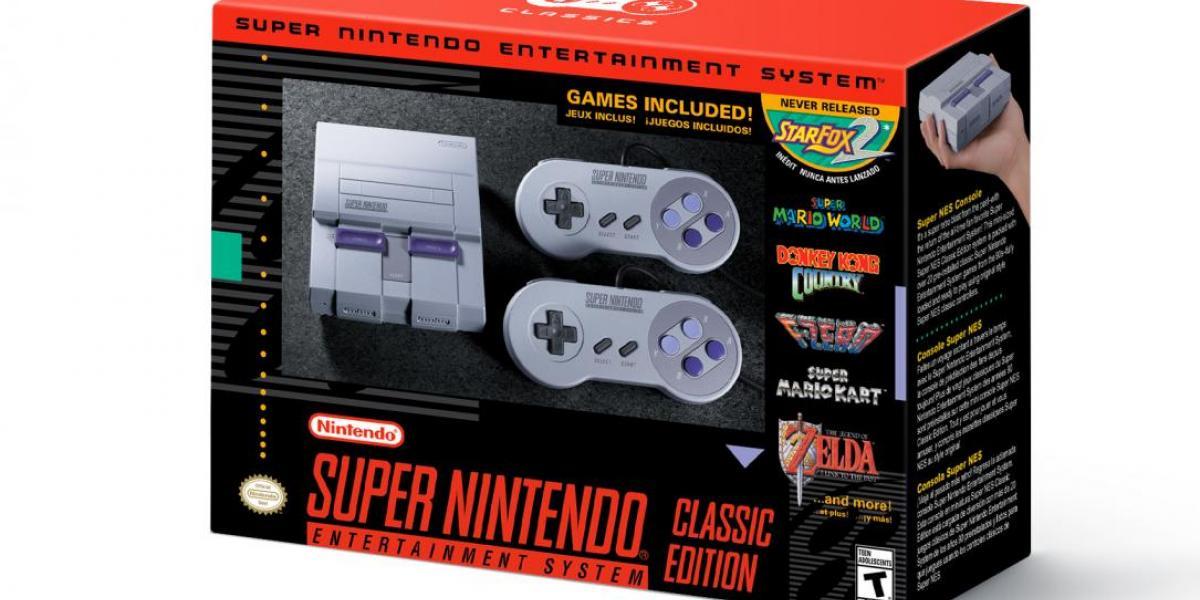 Nintendo lanzará en septiembre la SNES Mini