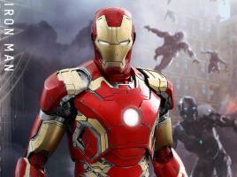 """Crean un traje """"funcional"""" a escala real de Iron Man"""