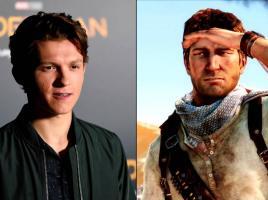 Tom Holland se alista para interpretar a Nathan Drake jugando Uncharted