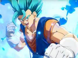 Así pelea Vegito Super Saiyan Blue en Dragon Ball FighterZ