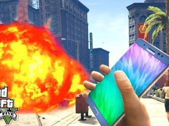 A Samsung no le hizo gracia el mod del Galaxy Note 7 bomba en GTA V