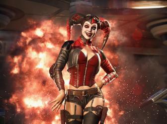 Así pelean Deadshot y Harley Quinn en Injustice 2