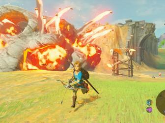 The Legend of Zelda: Breath of the Wild será un juego de lanzamiento de Nintendo Switch