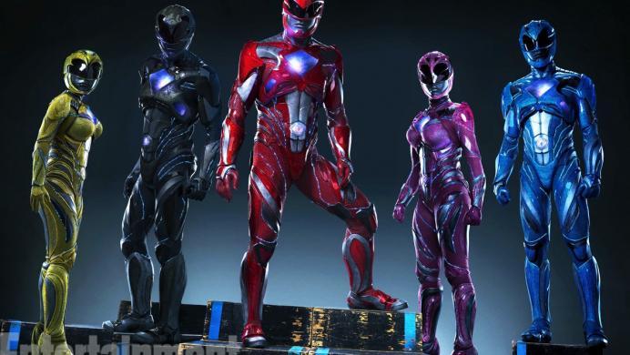 Los nuevos trajes de los Power Rangers son al mejor estilo de Iron Man
