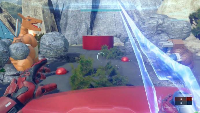 Crean un minijuego de Pokémon dentro de Halo 5