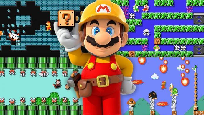 Hace un nivel de Super Mario Maker para pedirle a su novia que se casen