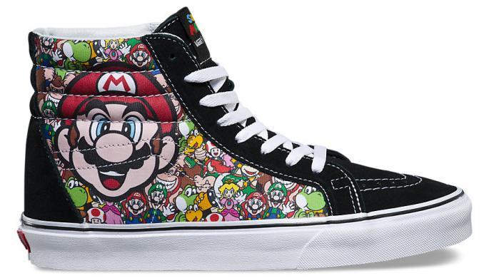 Ya está a la venta la colección de Vans inspirada en Mario Bros y Nintendo