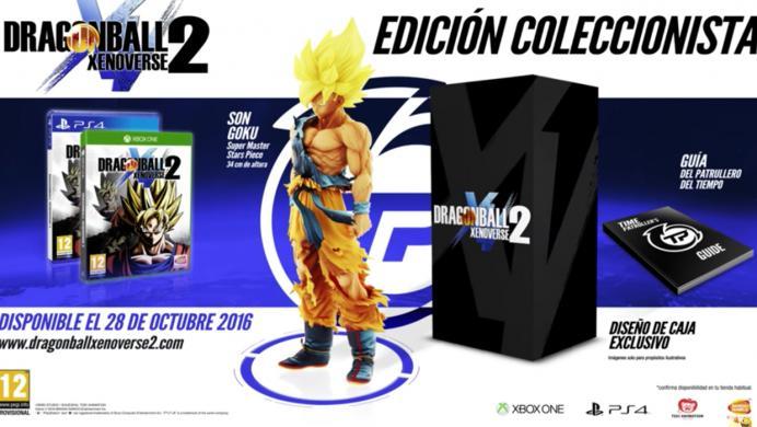 Mira la edición de colección de Dragon Ball Xenoverse 2