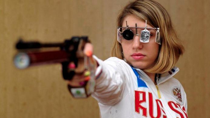Deportista olímpica participó en pruebas con emblemas de The Witcher