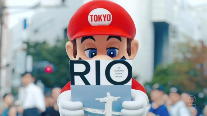 Mario Bros y Super Campeones, protagonistas de la presentación de Tokio 2020