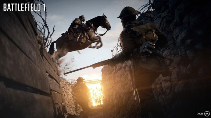 Puedes jugar la beta de Battlefield 1 sin PlayStation Plus