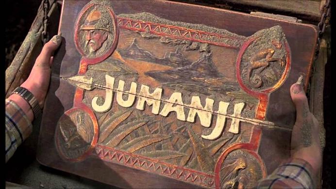 Mira la primera imagen de Jumanji, protagonizada por 'La Roca'