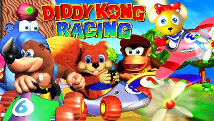 Así iba a ser la secuela de Diddy Kong Racing en Nintendo GameCube