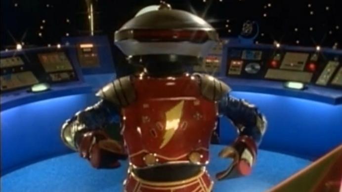 Alpha de la película de los Power Rangers es muy diferente al de la serie original