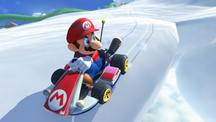 Así luce Mario Kart 8 Deluxe en Nintendo Switch