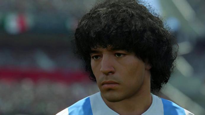 Konami le responde a Maradona: no hay uso indebido de su imagen