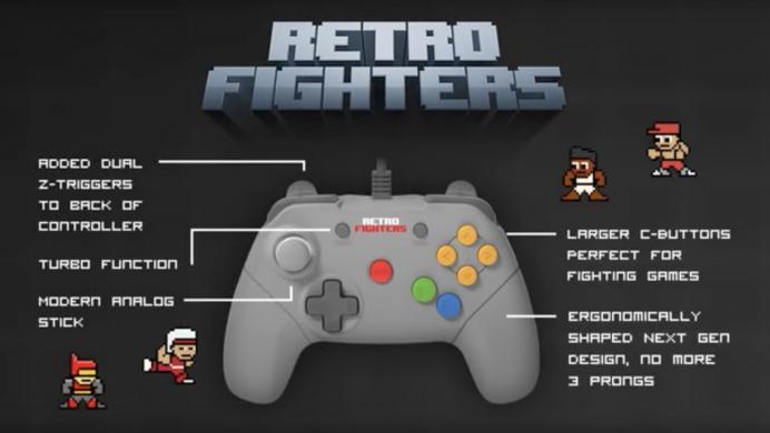 Campaña para rediseñar el control del N64 es un éxito en Kickstarter