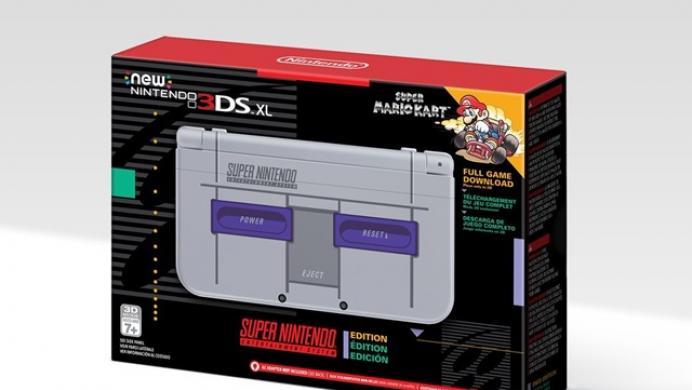 Nintendo lanzará una nueva 3DS XL con diseño de SNES