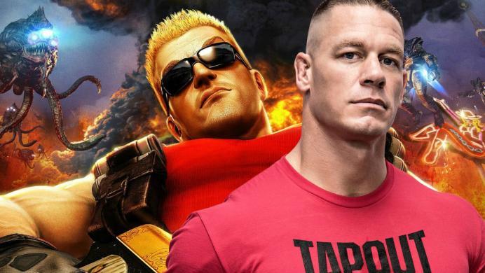 John Cena será el protagonista de la película live-action de Duke Nukem
