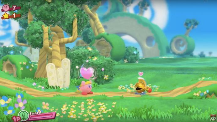 Kirby se alista para debutar en Nintendo Switch