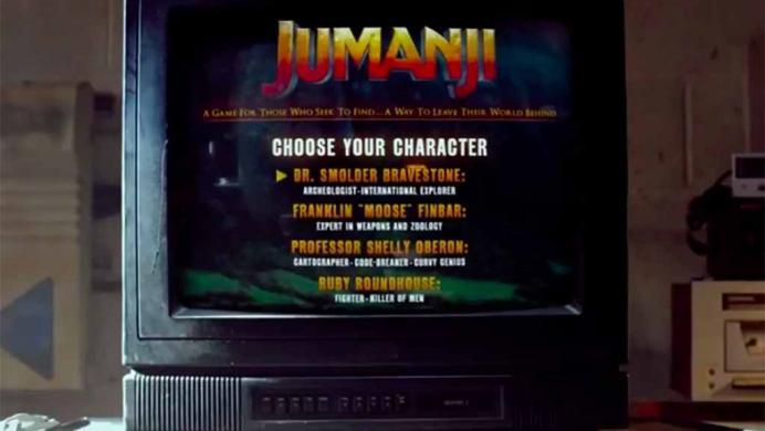 Jumanji evoluciona: ya no es un juego de mesa y se convierte en un videojuego maldito