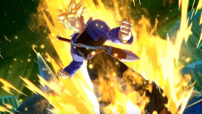 Así pelea Trunks en Dragon Ball FighterZ