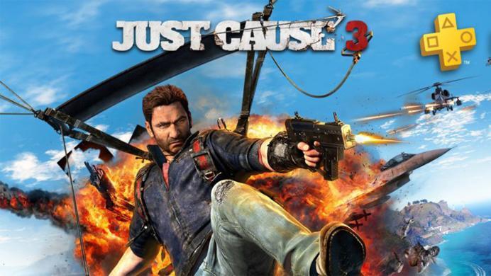 Just Cause 3 y mucho más, gratis en agosto para los miembros de PlayStation Plus
