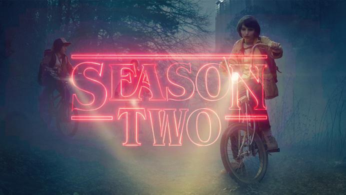 Todo listo para la segunda temporada de Stranger Things