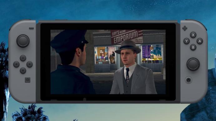 Rockstar se lanza al ruedo con Nintendo Switch y muestra a L.A. Noire en acción