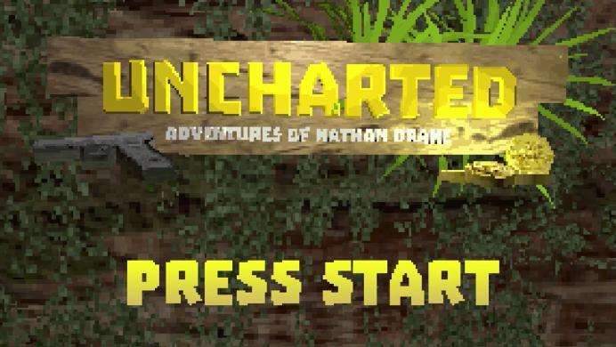 Así luciría Uncharted si hubiera sido lanzado en en la PlayStation original