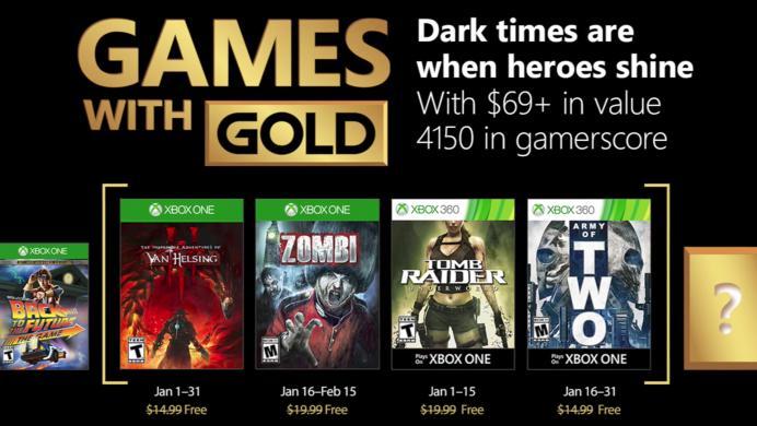 Ya puedes empezar a disfrutar los Games With Gold de enero
