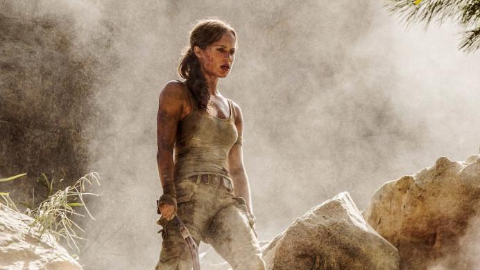 Alicia Vikander se exhibe en un nuevo tráiler de 'Tomb Raider: las aventuras de Lara Croft'