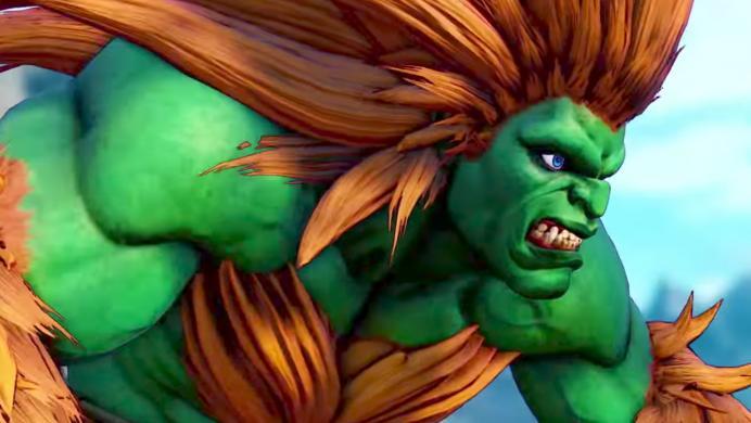 Así pelea Blanka en Street Fighter V: Arcade Edition