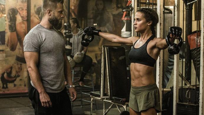 Así se entrenó Alicia Vikander para convertirse en Lara Croft