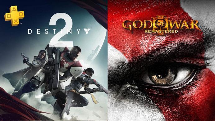 God of War 3 Remastered y Destiny 2, gratis en septiembre para todos los usuarios Plus de PS4