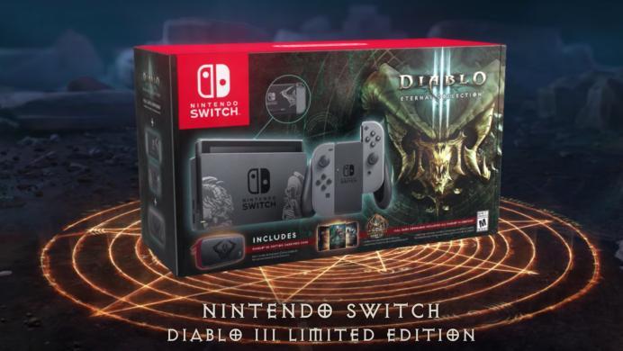 Nintendo presume la edición más 'diabólica' de Switch