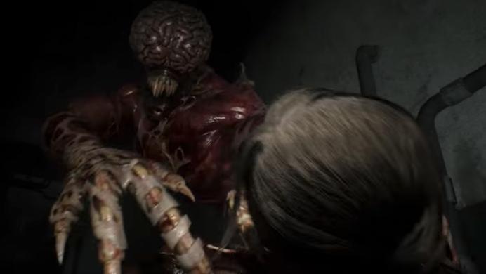 Los lickers de Resident Evil 2 lucen más letales que nunca gracias a su remake