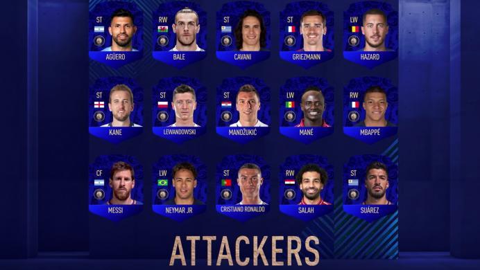 Ya están los 55 nominados para los TOTY en FIFA 19