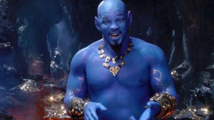El aspecto de Will Smith como Genio en la película de Aladdin sigue dividiendo opiniones