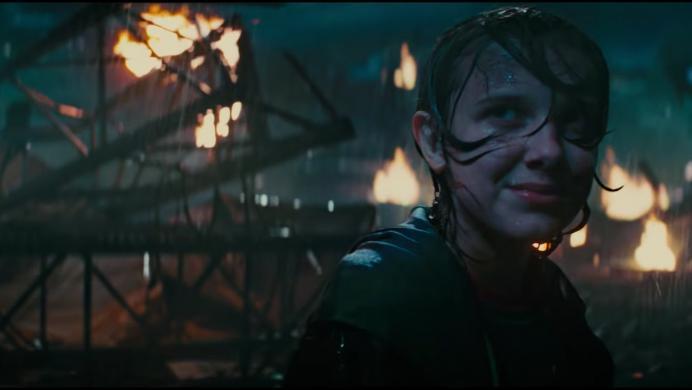 Mira a Millie Bobby Brown intentando salvar el mundo con el 'Rey de los monstruos' en el tráiler de Godzilla