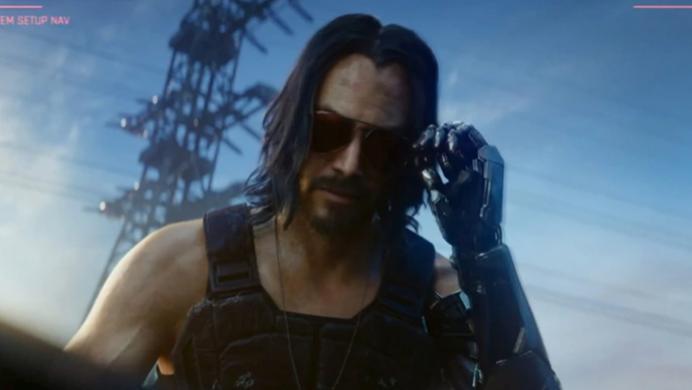 Keanu Reeves se robó el show en la  presentación de Cyberpunk 2077 durante el E3