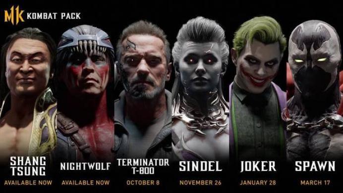 Terminator y el Joker se suman a la batalla en Mortal Kombat 11
