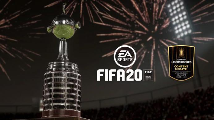 La Copa Libertadores llegará a FIFA 20 como DLC gratuito en marzo
