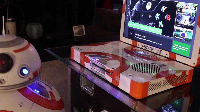 Modder transforma un Xbox One al estilo de BB-8