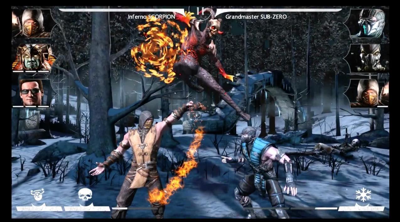 Mortal Kombat X en smartphones se actualiza para celebrar su primer aniversario