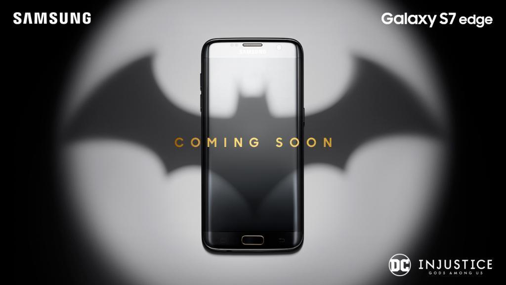 El Galaxy S7 Edge se viste de Batman con su edición de Injustice: God Among Us